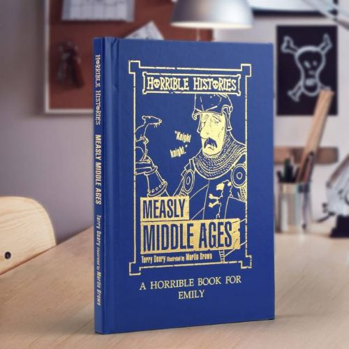 Horrible Histories Measly Middle-Ages Book